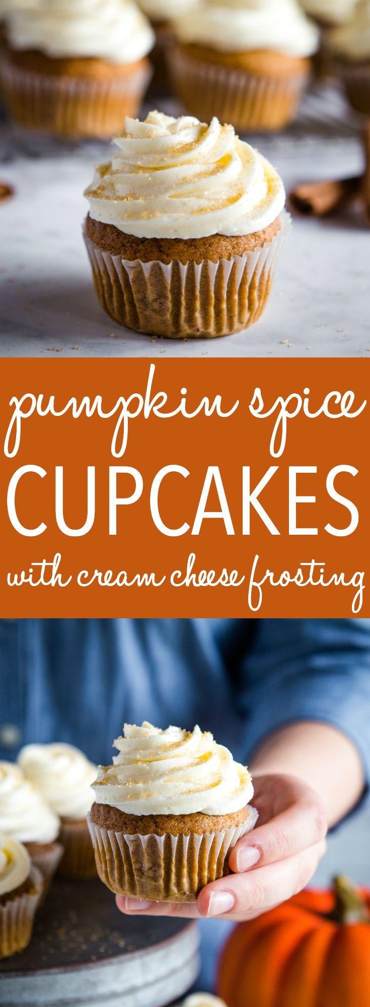 Pumpkin Spice Cupcakes #cupcakesrezepte