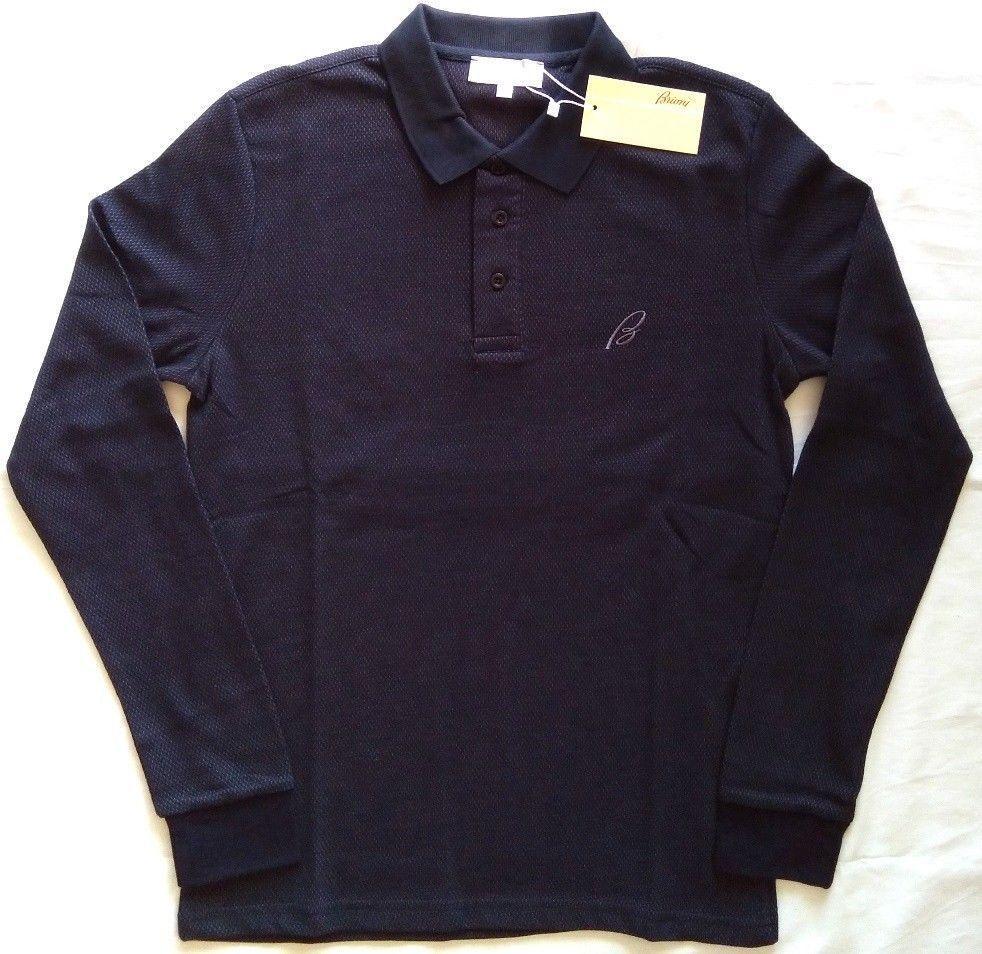 eaff6e8e BNWT BRIONI Men's Shirt T-shirt Polo Top Navy/Blue Size:XL #fashion  #clothing #shoes #accessories #mensclothing #shirts (ebay link)