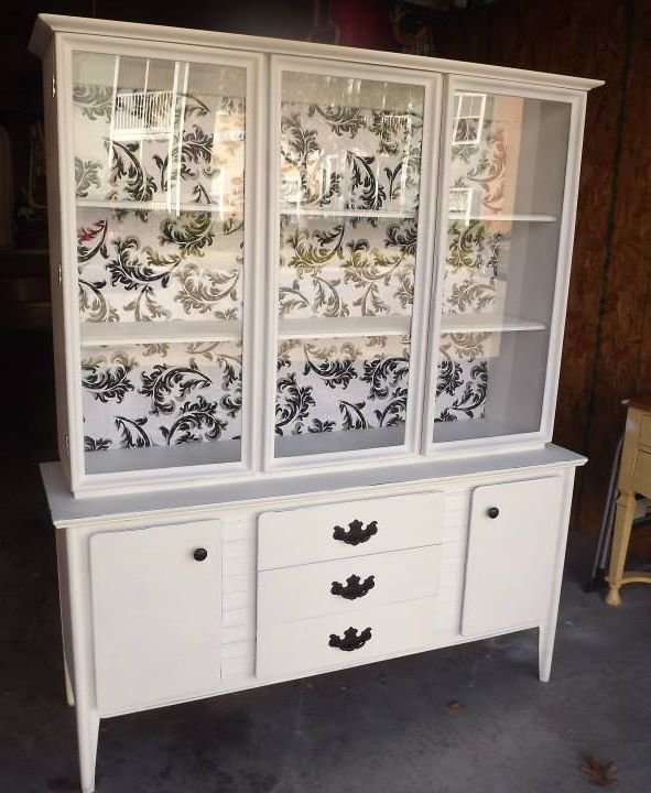 Vintage Cupboard Makeover French Country