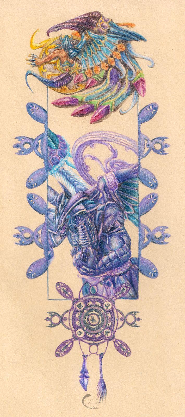 Tiffany Shin Artwork Final Fantasy X Final Fantasy Art Final Fantasy Tattoo