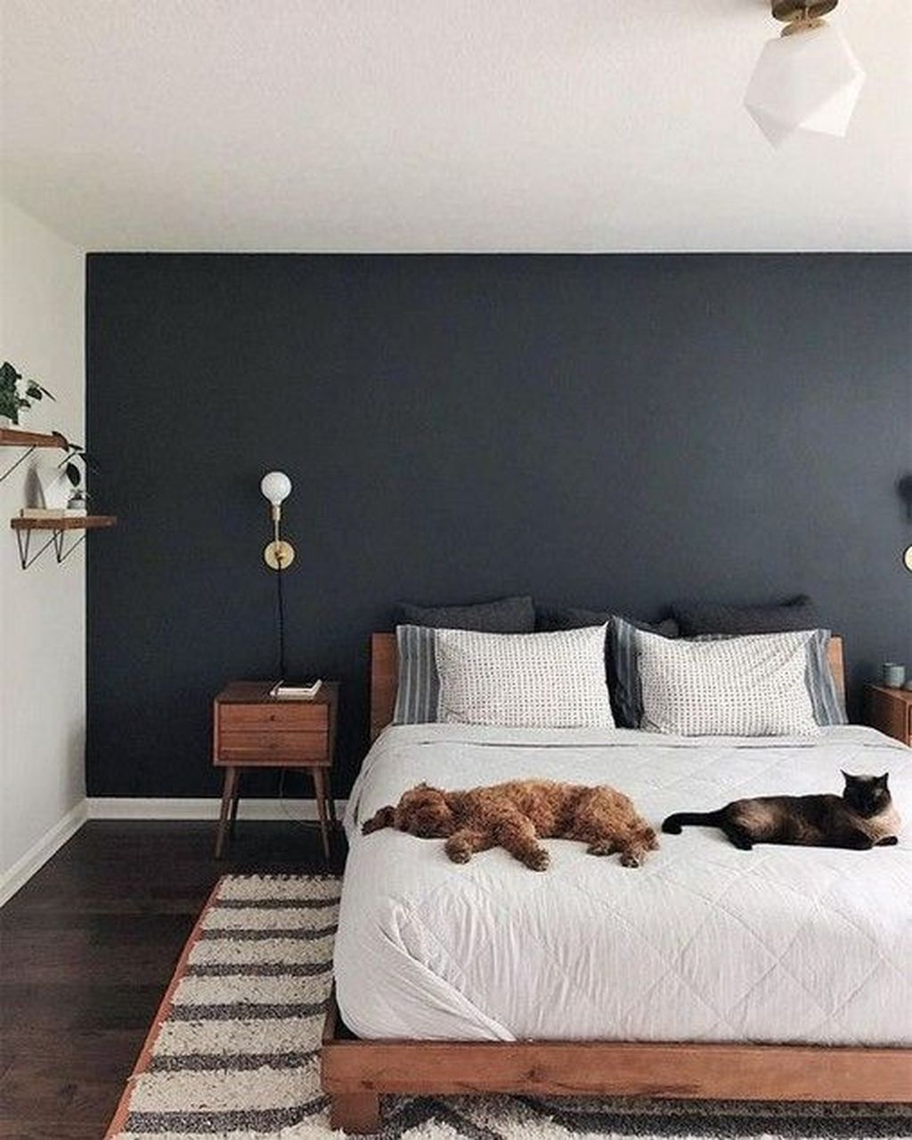 46 Awesome Minimalist Bedroom Design And Decor Ideas Homyhomee In 2020 Home Decor Bedroom Minimalist Bedroom Design Small Bedroom Decor