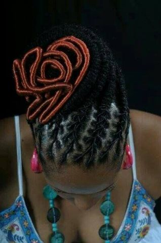 Natasha From Trinidad's intricate style - To learn how to grow your hair longer click here - http://blackhair.cc/PVCB28