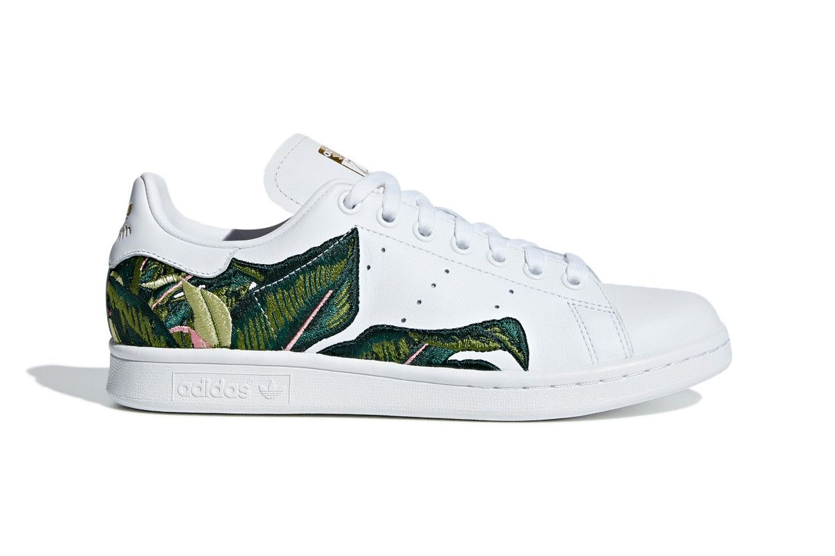Smith Stan Palm Originals Leaf Adidas Tropical Banana Embroidered 0TnnqY1