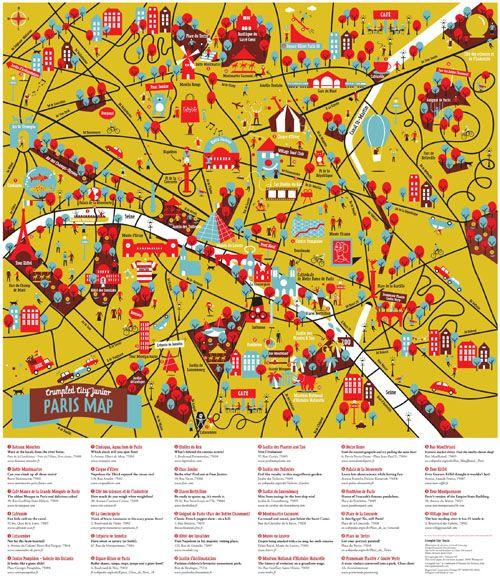 Berlin Crumpled City Map
