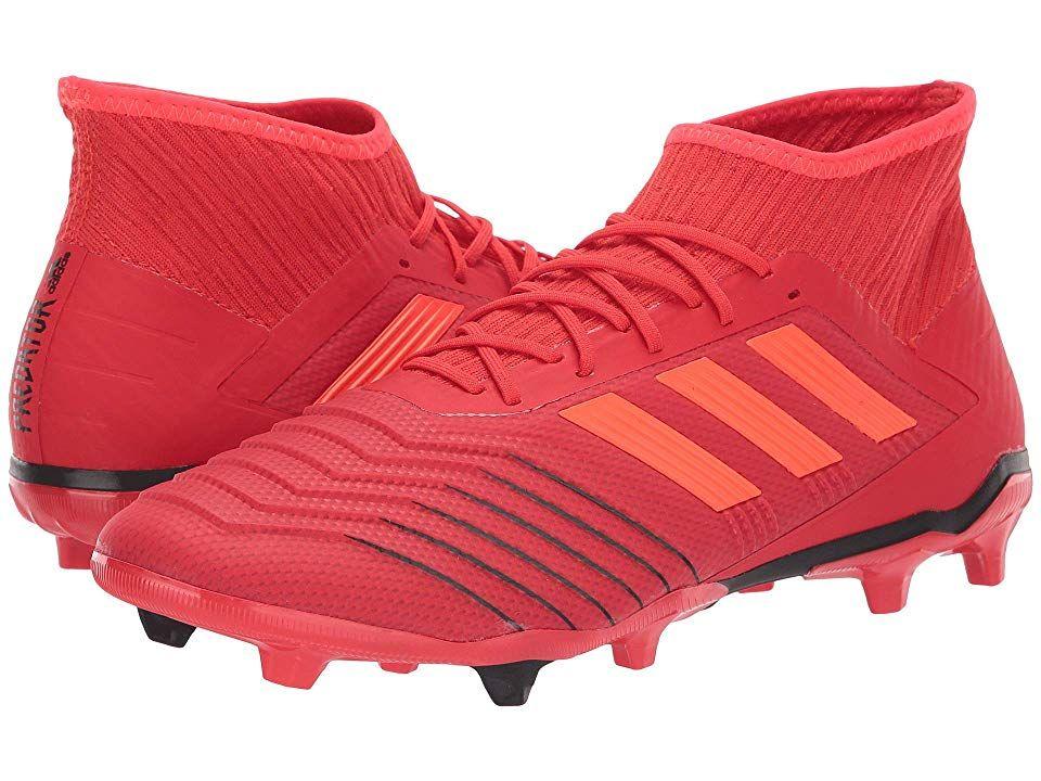 adidas Predator 19.2 FG Men's Soccer Shoes Active RedSolar