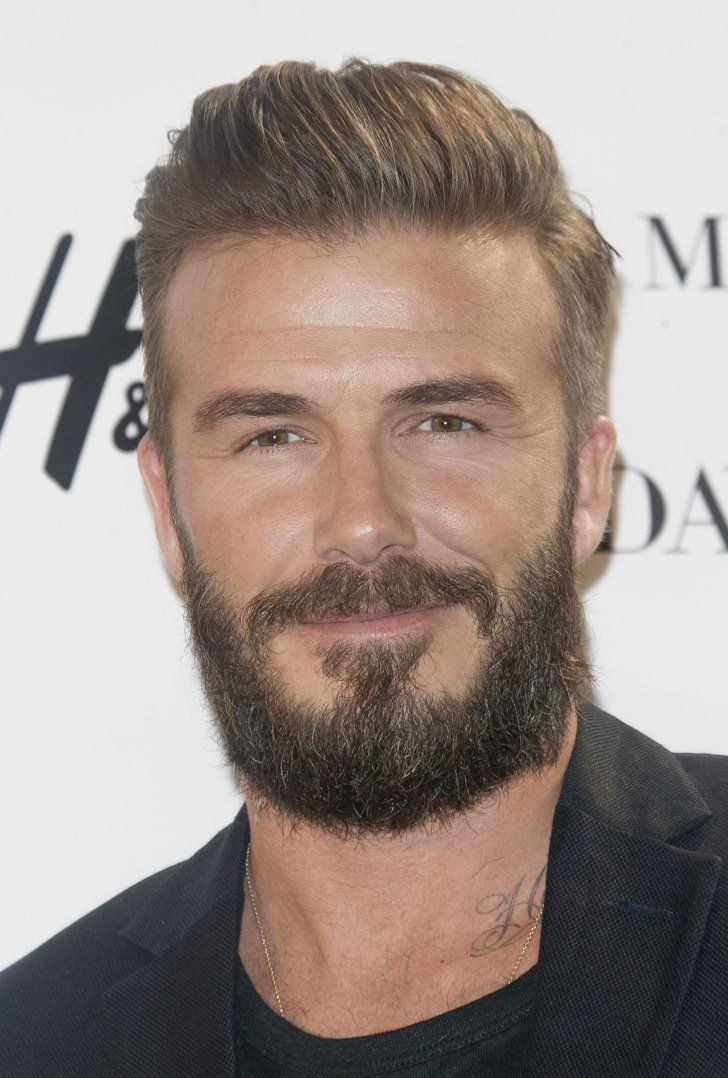 David Beckham Beckham Beard Haircut And Beard Styles - Latest hairstyle of beckham