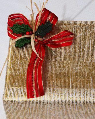 Come incartare i regali di Natale