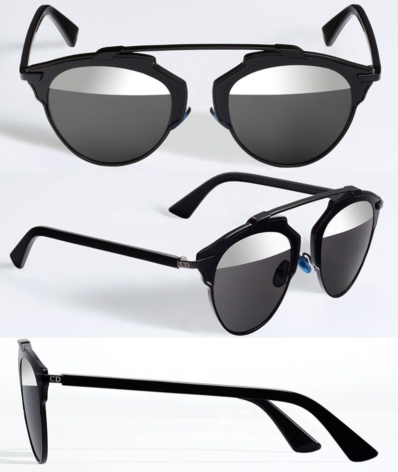 5b69967bf4 Christian Dior new sunglasses SoReal black