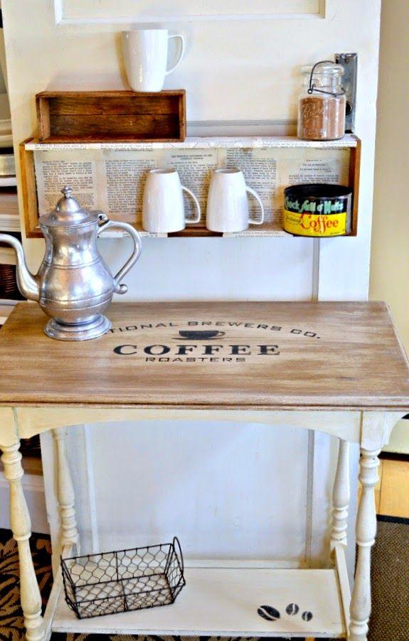 Lovely Coffee Bar Table Www.homeroad.net