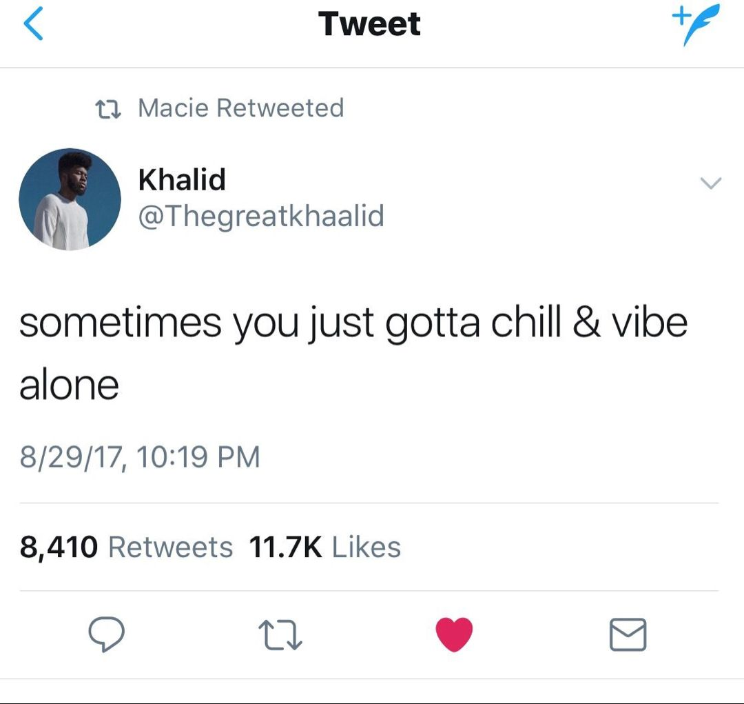 khalid is just really awesome!! tweet quotes, post malone best twitter tweets tweets #11