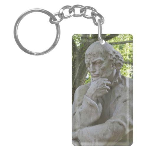 #Paracelsus #Monument in #Salzburg Acrylic #Key #Chain