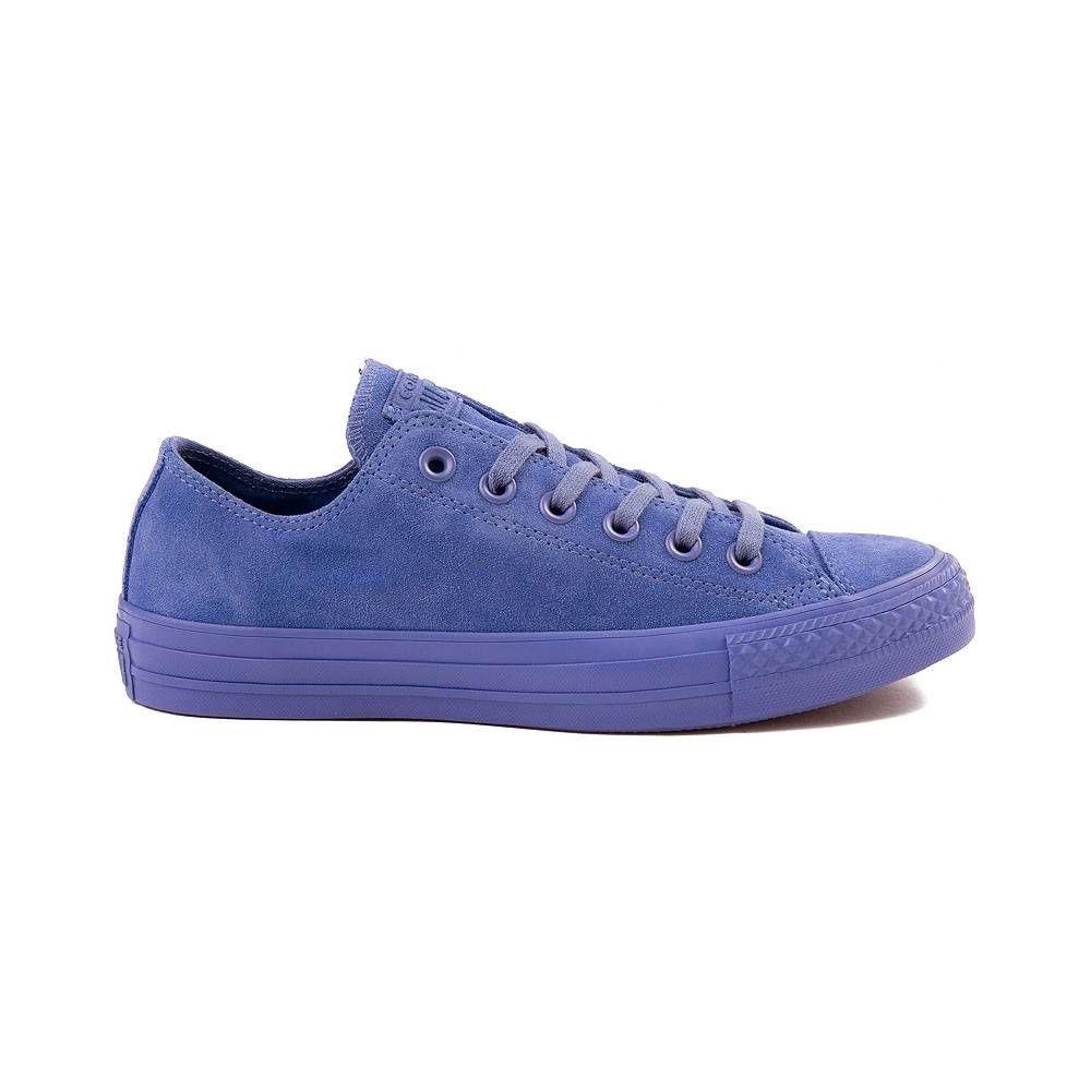 0f9e43332a8687 Converse Chuck Taylor All Star Lo Suede Sneaker - Blue Monochrome - 399600