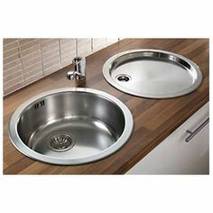 Pyramis stainless steel reversible round bowl kitchen sink tap pyramis stainless steel reversible round bowl kitchen sink tap pack workwithnaturefo
