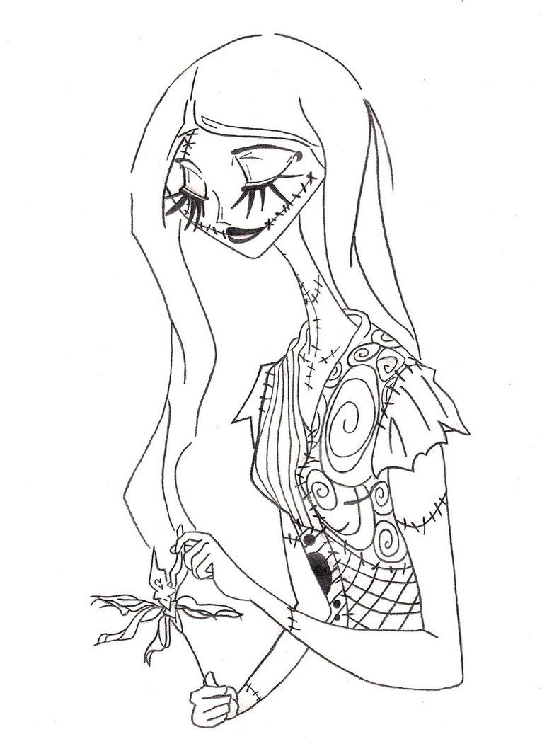 Nightmare Before Christmas Colouring Pages Google Sear Nightmare Before Christmas Drawings Nightmare Before Christmas Tattoo Sally Nightmare Before Christmas