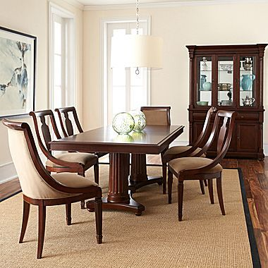 Edinburgh Pedestal Dining Set Jcpenney Dining Room Furniture Home Home Decor