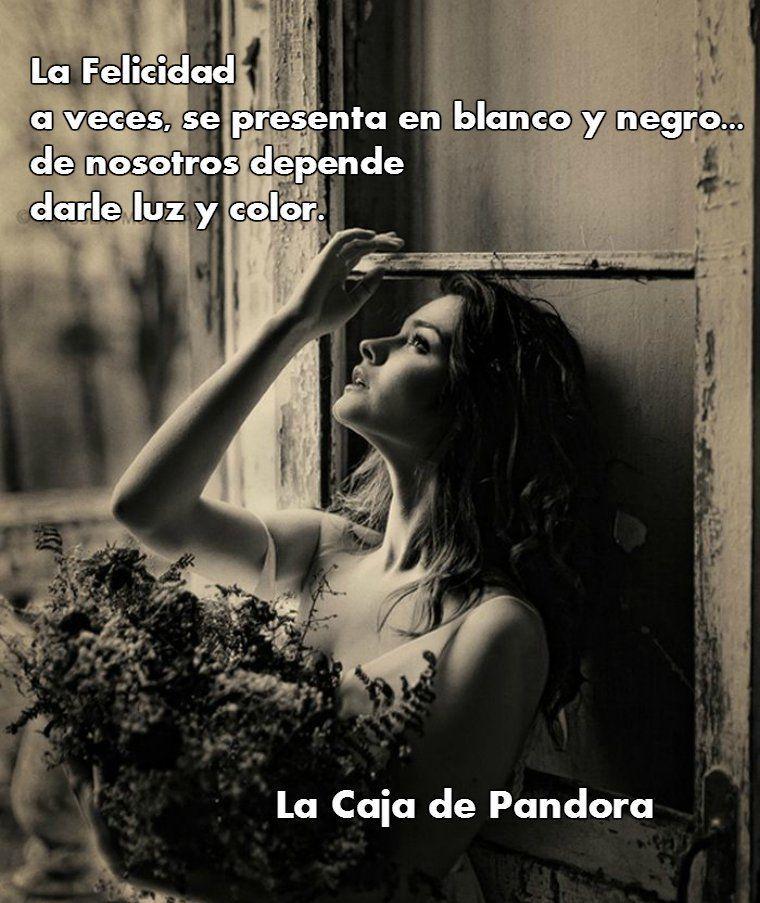 Frases Bonitas La Caja De Pandora Photographie Portrait Femme Y