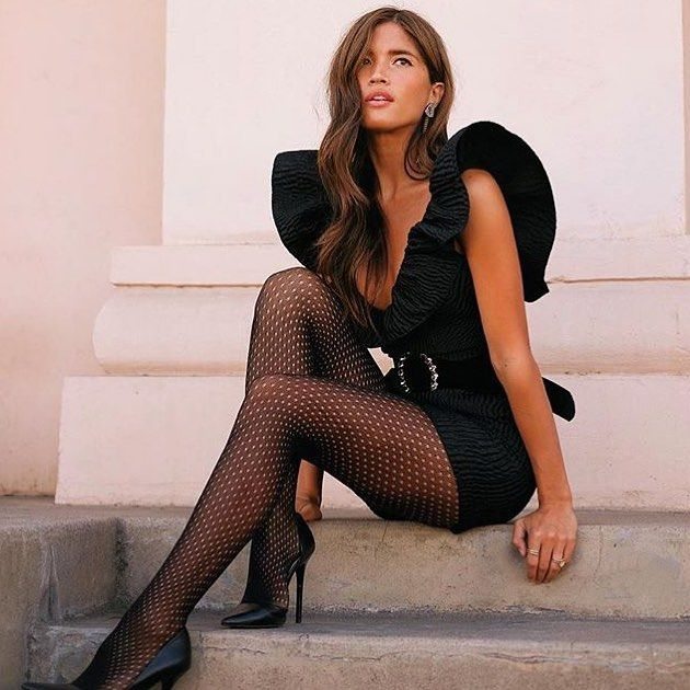 606badfefee Every little black dress deserves a pair of little black  tights!  Tights  MODC1434
