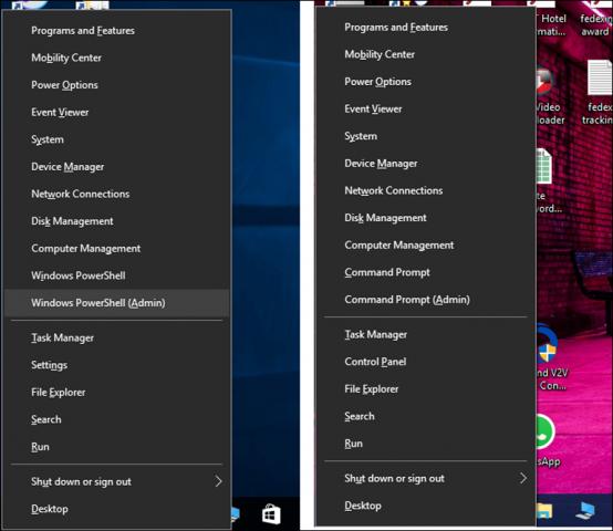 Windows 10 Creators Update - Re-Enable Command Prompt