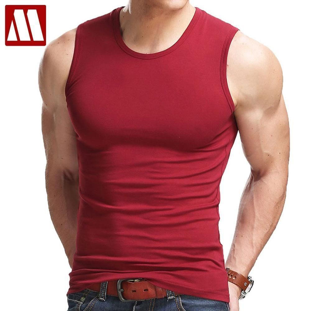 Men Body Muscle Compression Under Base Layer Sleeveless Vest Sports Gym Tank Top