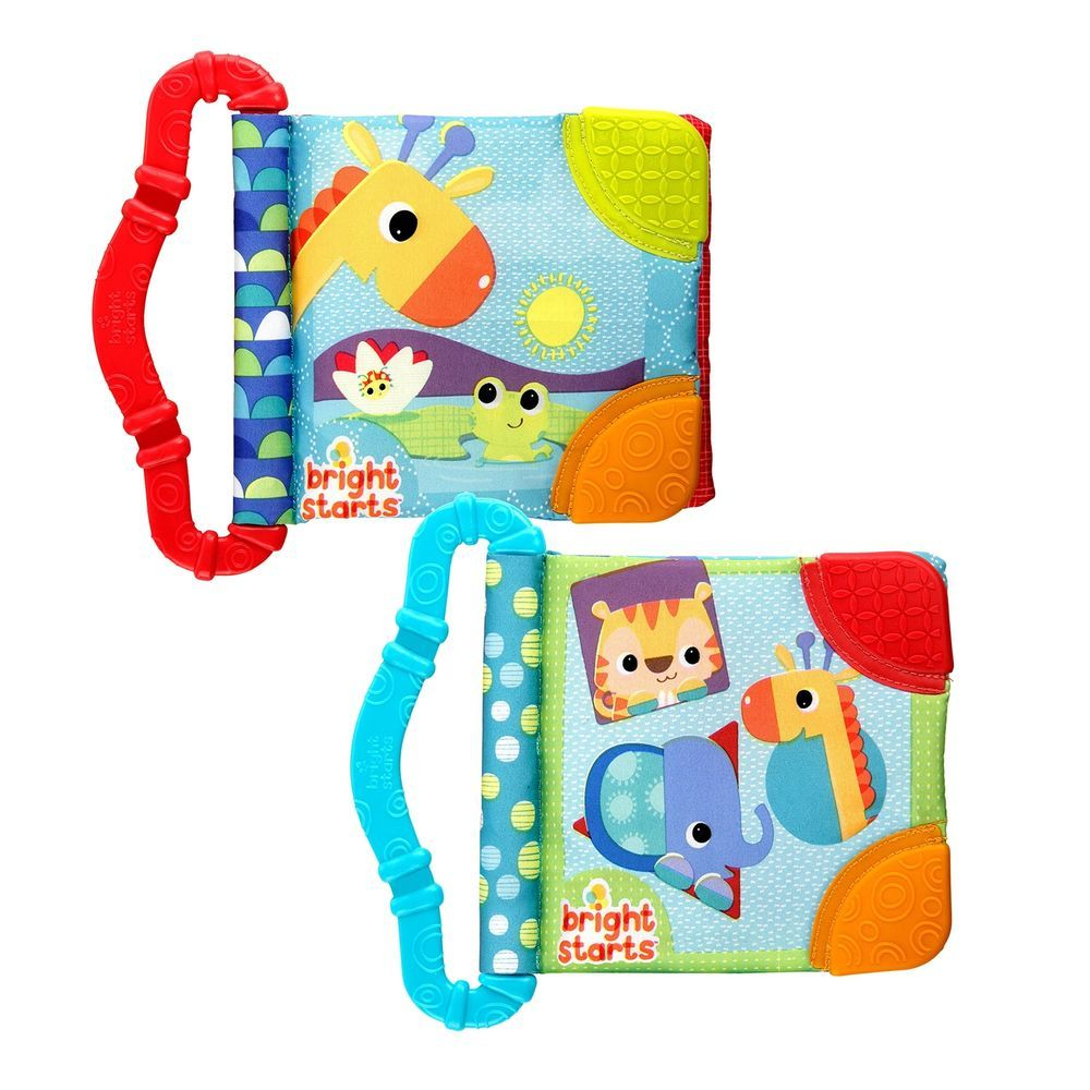 Bright Starts Book Baby Learn Books Teether Teething Teaching Read ...