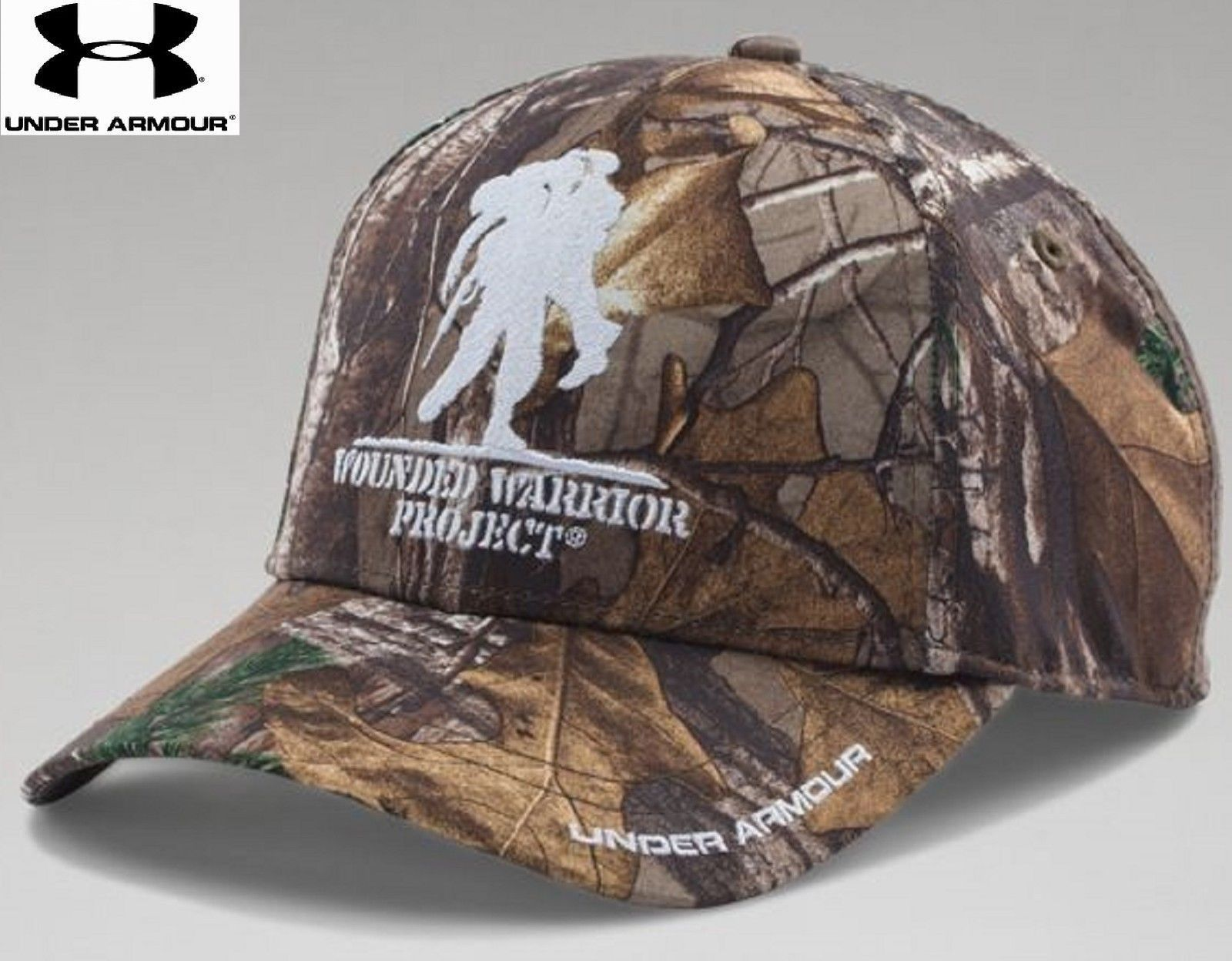 0bc87ceda73 Under Armour Wounded Warrior Project Camo Snap Cap - Mens UA Embroidered  WWP Hat