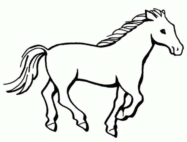 Horse Coloring Pages Horse Alphabet Coloring Pages Printable Horse Coloring Pages Easy Horse Drawing Horse Template