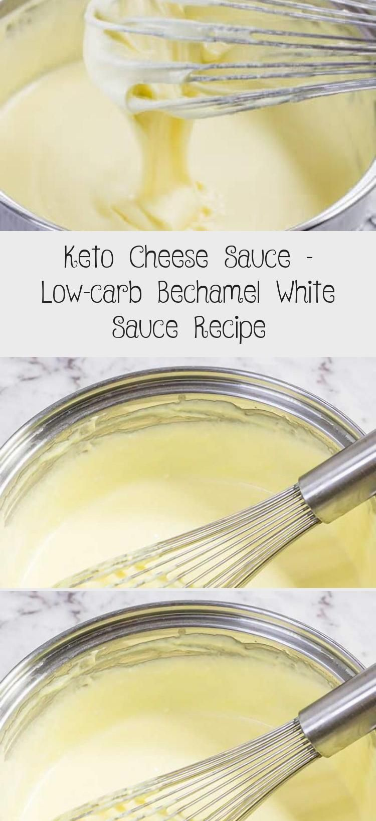 Keto Cheese Sauce Low Carb Bechamel White Sauce Recipe Easy