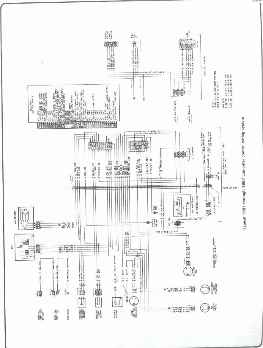 12  87 Chevy Truck Radio Wiring Diagram