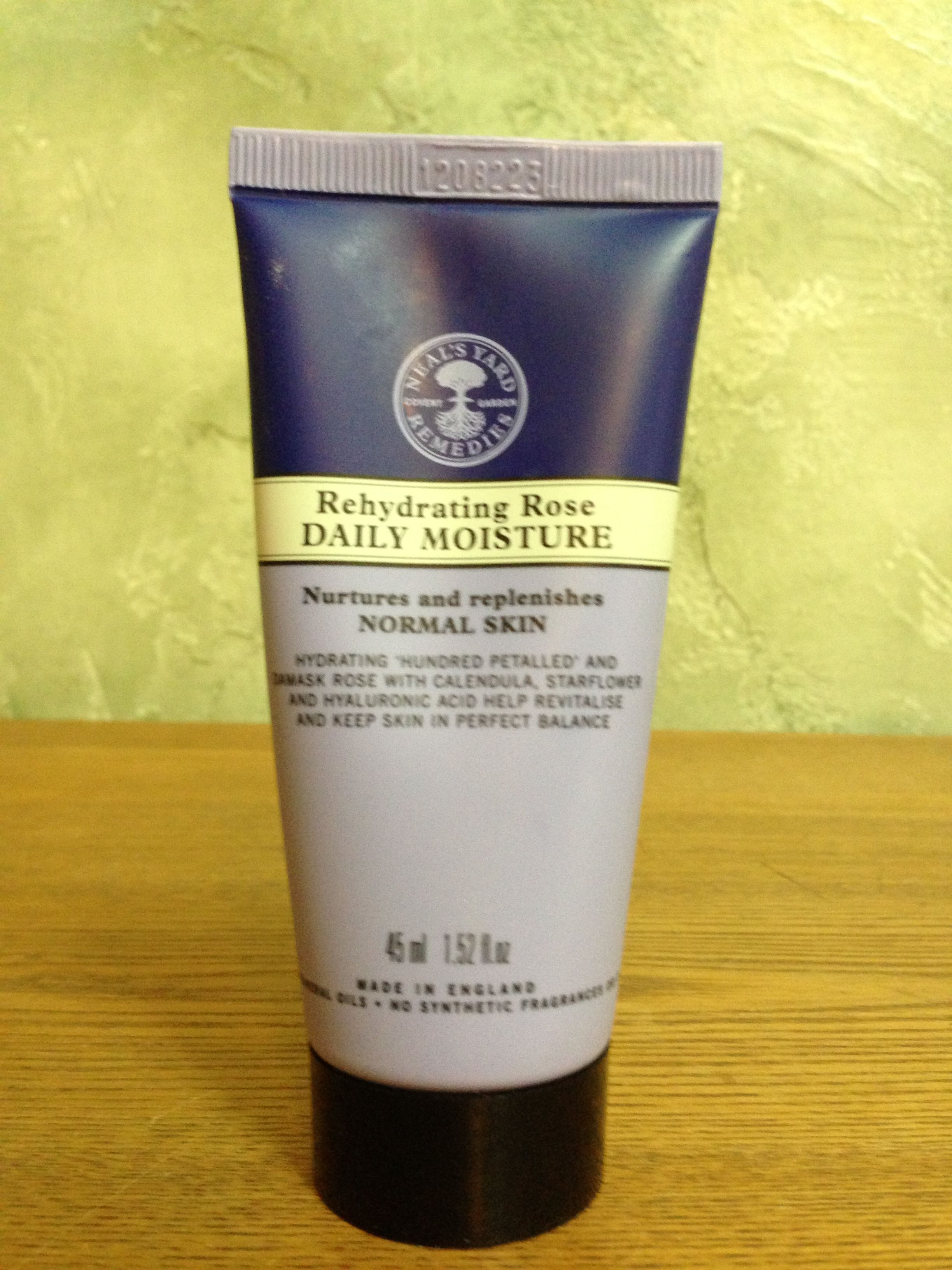 NYR Organic Rehydrating Rose Daily Moisture, this smells similar & better than Avon's Roses Roses that my grandma used to wear. Makes my skin silky smooth too:)