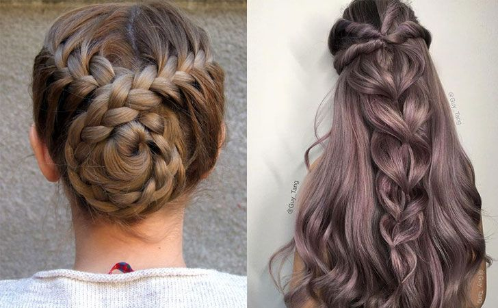 12 Quick And Easy Braided Hairstyles 2021 Braids Inspiration Braided Hairstyles Easy Hair Styles Ponytail Hairstyles Easy