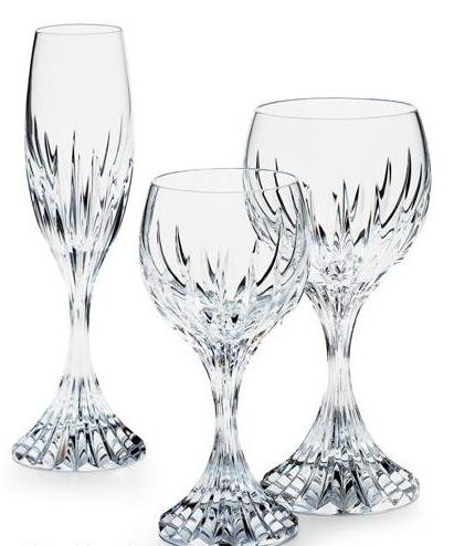 baccarat crystal stemware and wine glassesjpg
