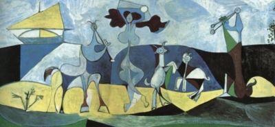 Joy Of Life (Antipolis) - Pablo Picasso, 1946