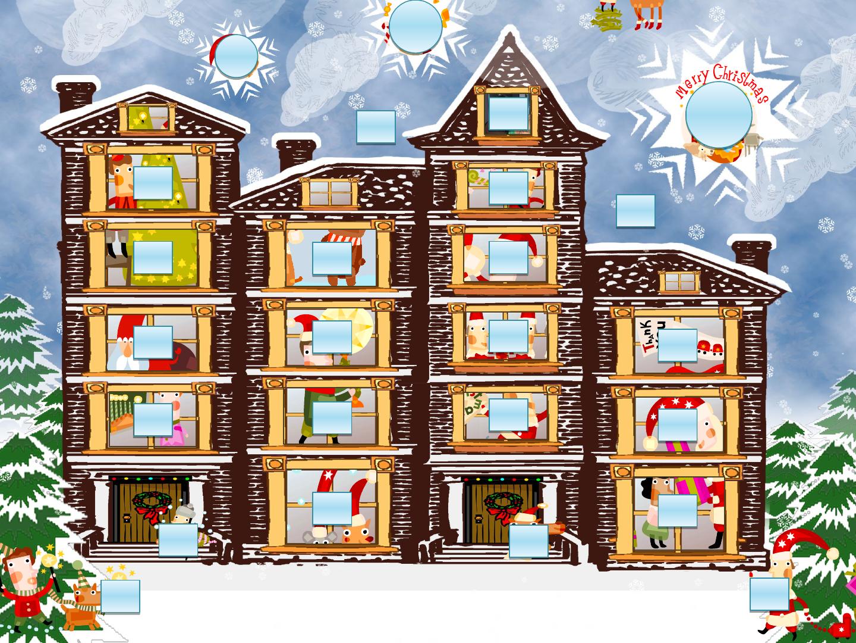 Advent Calendar Powerpoint Template Christmas Lessons Pinterest