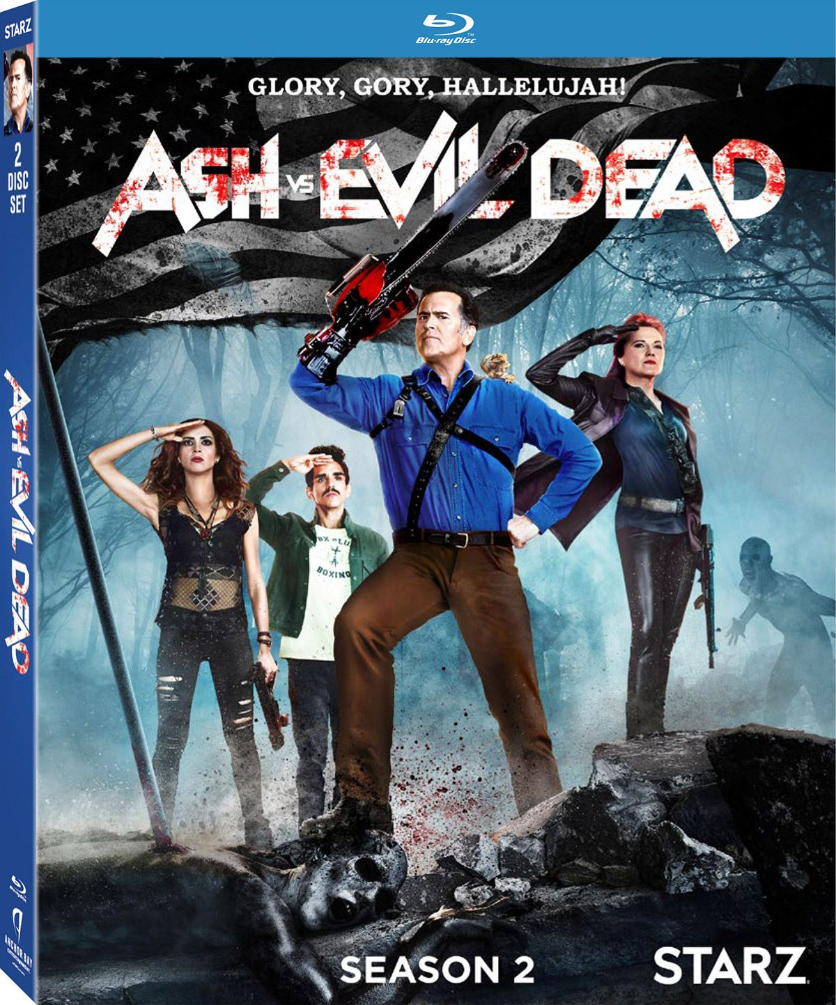 Ash Vs Evil Dead The Complete Second Season Blu Ray Review Evil Dead Series Dvd Seasons