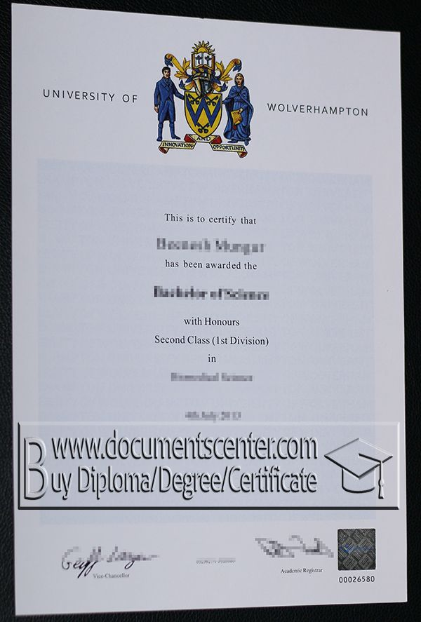 Http\/\/wwwdocumentscenter University Of Wolverhampton Fake   First Class  Honours  First Class Degree