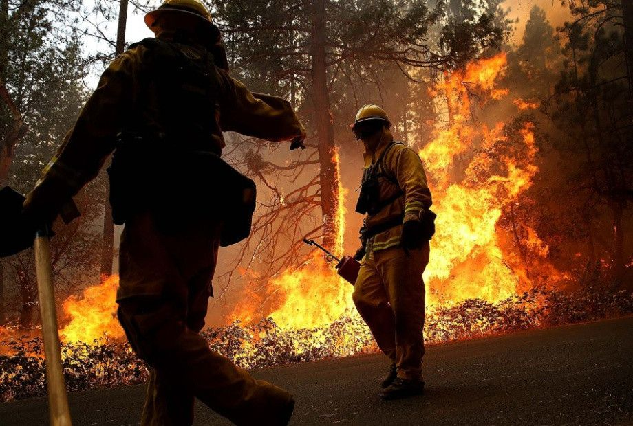 Yosemite Fire HiRes Photos Wildland fire, Palm beach