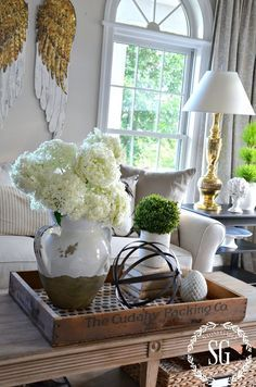Tray Decoration Ideas Inspiration Bhome Summer Open House Tour  Trays Coffee And Living Rooms Design Ideas