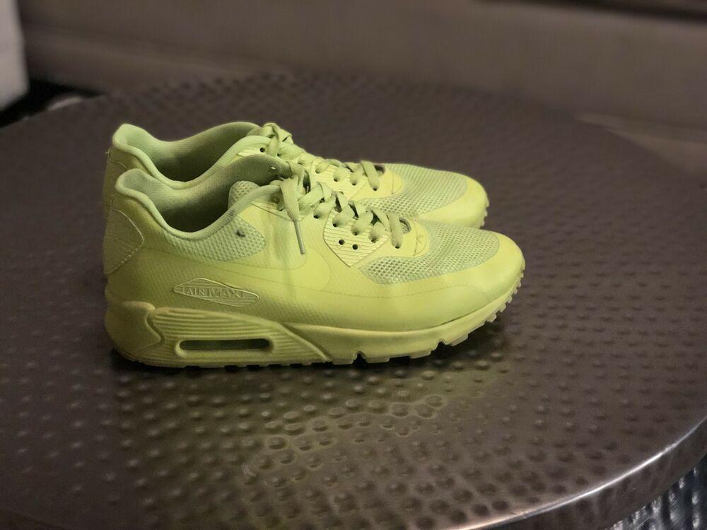 pretty nice 5991e cb605 Rare NIKE AIR MAX 90 HYPERFUSE PREMIUM VOLT 454446-700 NEON GREEN YELLOW -  Nike