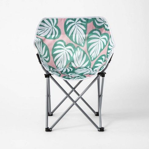 Brilliant Adult Compact Chair Palm Leaf Sun Squad Camper In 2019 Andrewgaddart Wooden Chair Designs For Living Room Andrewgaddartcom
