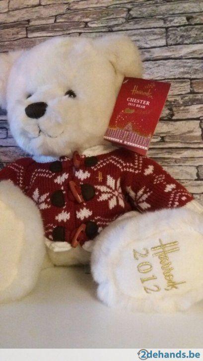 Harrods christmas teddy bear Chester