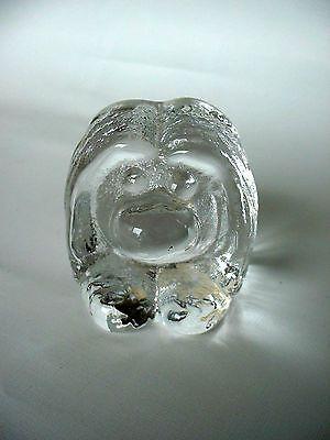 Glass Troll from Bergdala Glassworks in Småland, Sweden