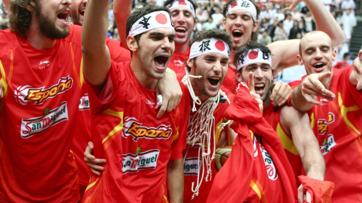 Selección española de basket 2006 mundial