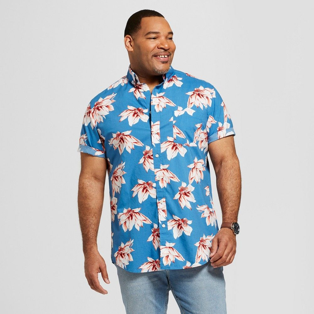 cd1a21ee5fee Stay cool while looking sharp with a Short-Sleeve Button-Down Shirt from  Goodfellow and Co. This handsome button down is a flexible fashion choice  for a ...