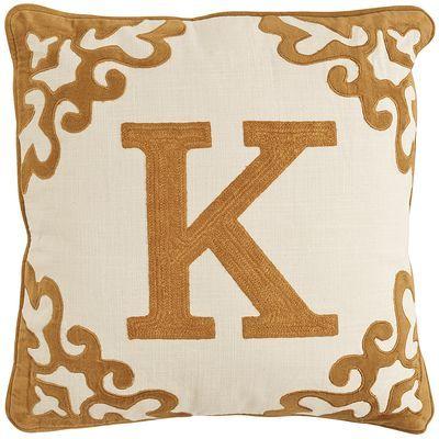 Initial Impressions™ K Pillow - Honey Classic