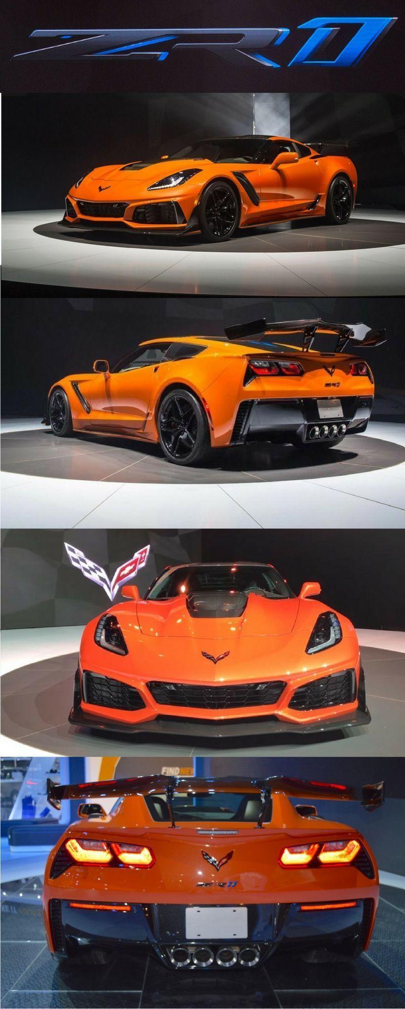 2019 Chevrolet Corvette Zr1 With 766 Horsepower Is Fastest Ever