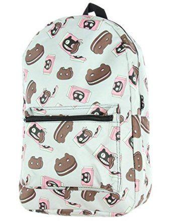 9286e606783 Amazon.com: Steven Universe Cookie Cat Backpack: Clothing | Kidlets ...