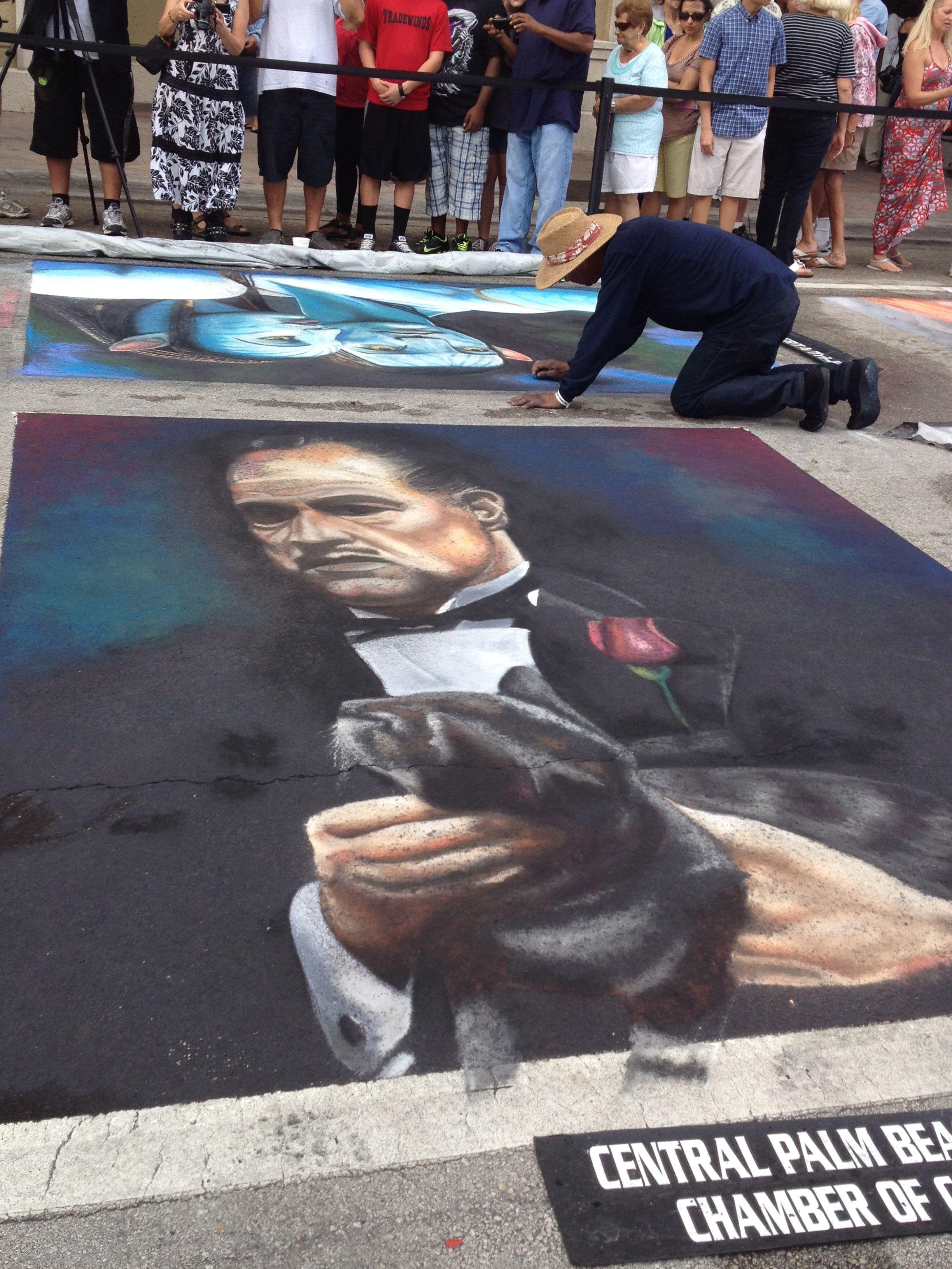 Chalk Painting Festival Lake Worth Chalk festival