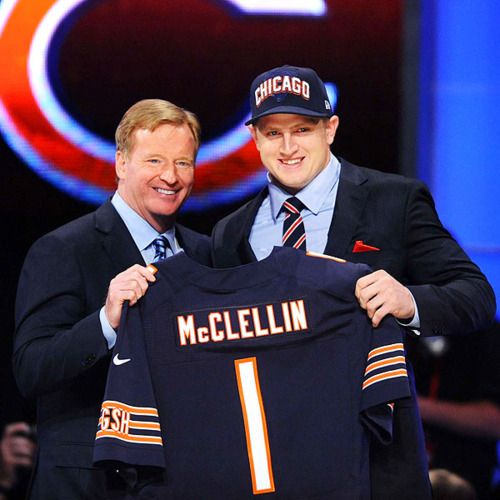 Shea McClellin #1 pick by my other team - da Bears