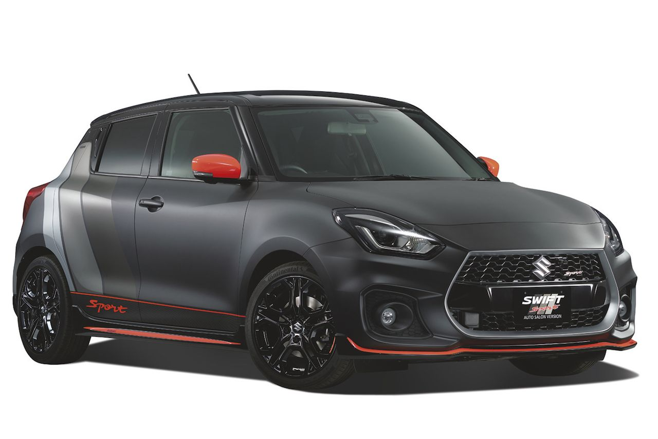 Photo of Suzuki Swift Sport Auto Salon Version revealed for 2018 Tokyo Auto Salon