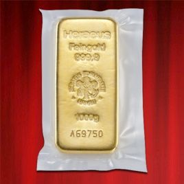 1kg Gold Bullion Heraeus Gold Bar 1000gr In Stock And Has Just Been Added To Http Www Bullionuk Com Products Gol Gold Bullion Gold Bar Gold Bullion Bars